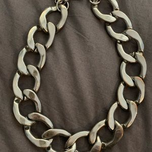 14th and union statement necklace silver